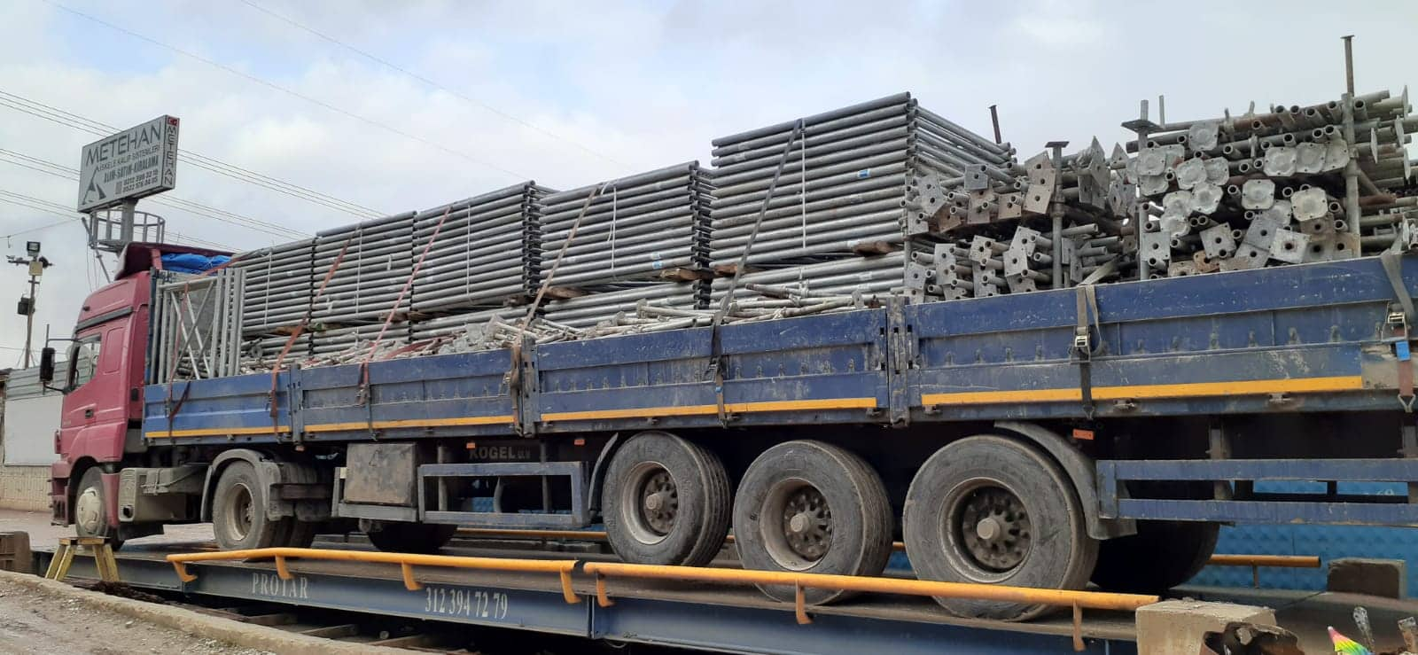 2nd Hand Galvanized Formwork Under Table Scaffolding (Tms Brand) 2nd SHIPMENT!