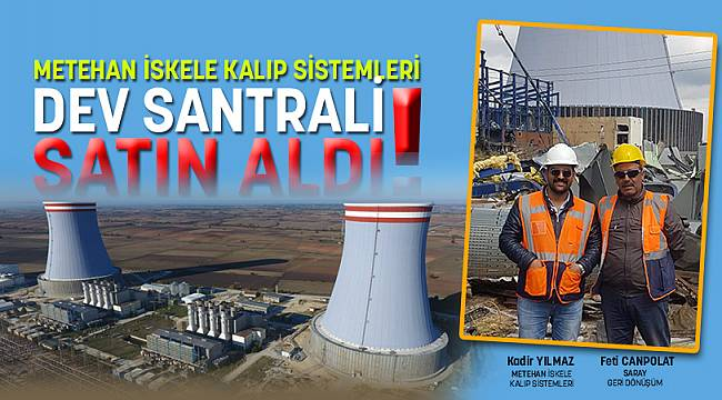 METEHAN ISKELE BUILDING A GIANT POWER PLANT!